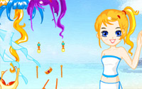 Doll Beach Dressup
