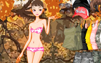 autumn forest dressup