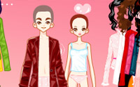 boy girl doll dressup
