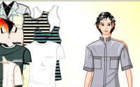 boy shopping dressup