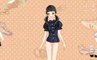 cute girl dressup