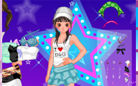 dancing star dressup