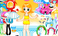 doll dancer dressup information
