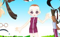 doll garden dressup information