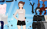 dots beads dressup