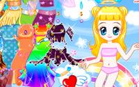 florine doll dressup information
