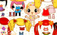 happy doll dressup