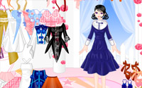 old gown dressup