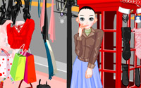 phone booth dressup