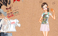 shopping dressup