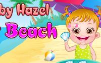 Baby hazel On The Beach