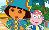 Doras Pirate Boat Treasure Hunt information