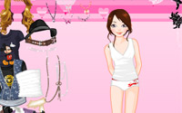 summer fashion dress up