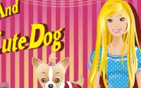 barbie And Her Cute Dog information