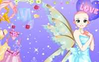 Purple Fairy Dressup