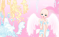 white angel dressup information