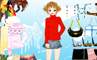 winter fashion dressup