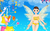 yellow fairy dressup information