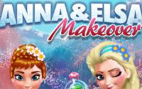 Anna and Elsa Makeover information