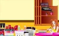 Makeup Store Decoration information
