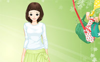 Green Life Dressup information
